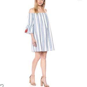NWT Catherine Malandrino Striped Dress